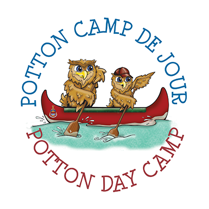 logo camp de jour potton day camp