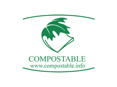 logo compostable info